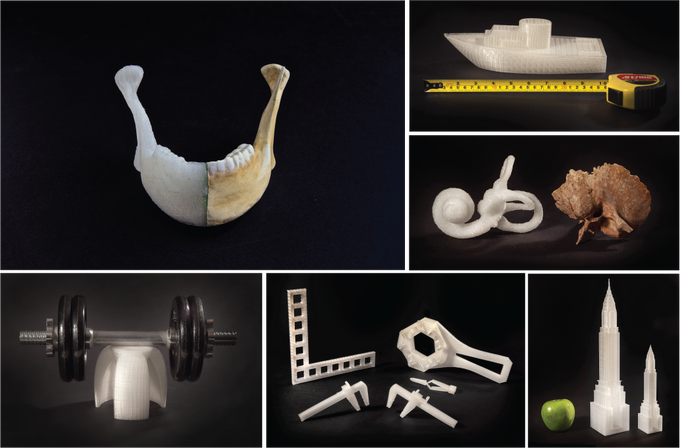 3D Printed Objects from Gigabot