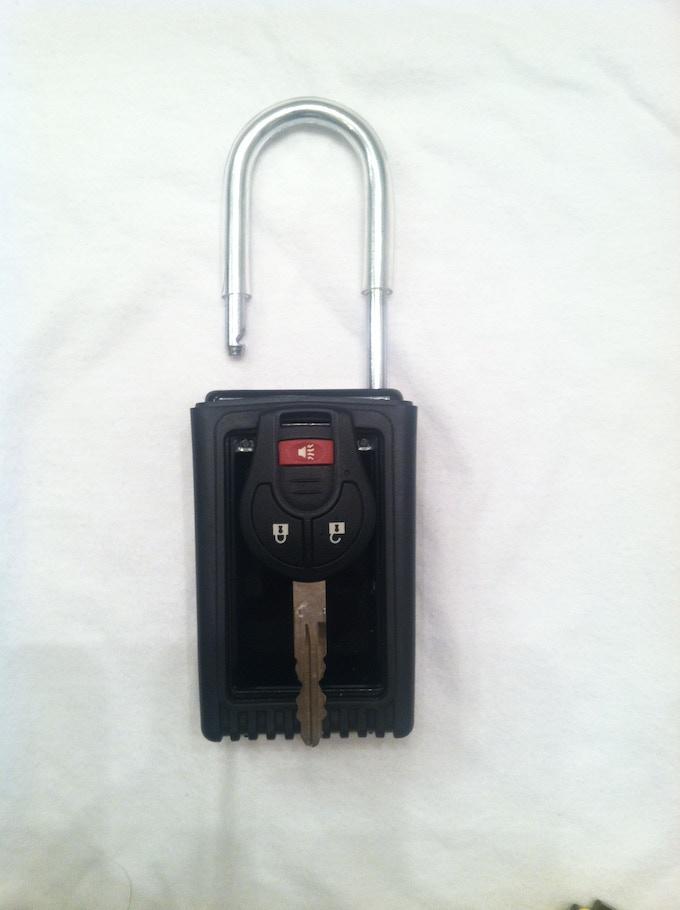 new keys did not fit