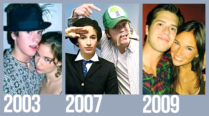 Sas and Jake through the years...