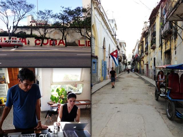 Havana moments, Reinaldo Escobar & Yoani Sánchez