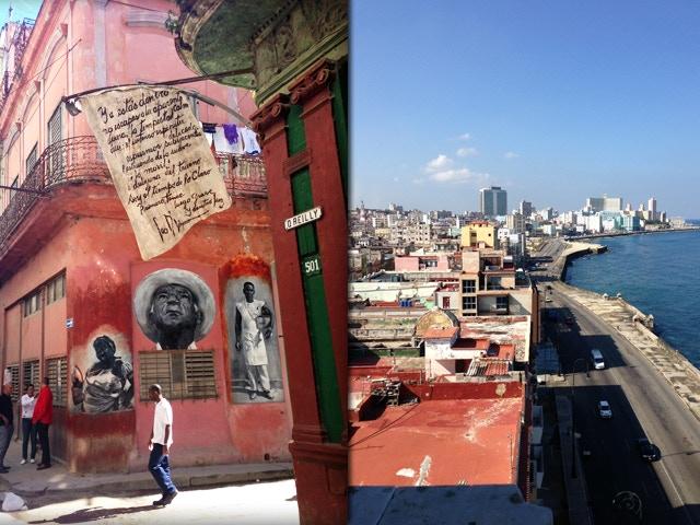 Calle O'reilly & El Malecón -  Havana,Cuba