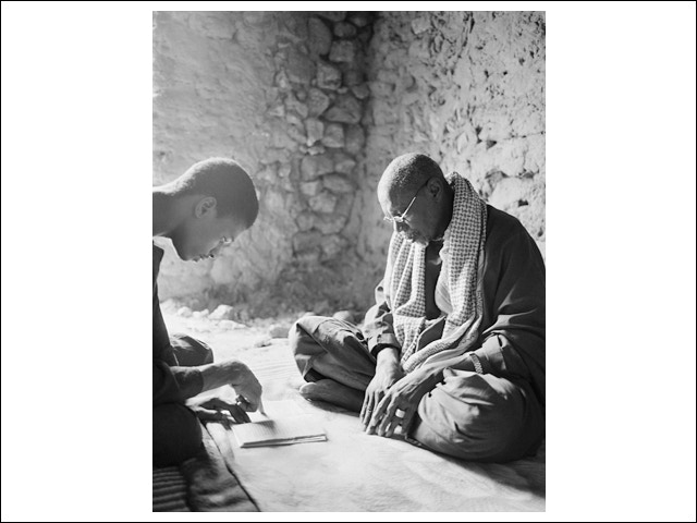 """Cover Photograph of """"333 Saints: a Life of Scholarship in Timbuktu"""""""