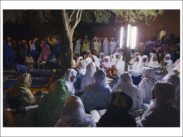 Featured Print: 'Mawlid Women by Night'