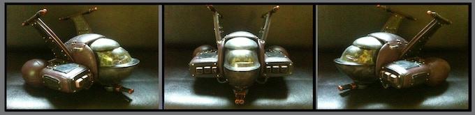 """Mini FLEA SHIP (11"""" wide x 6"""" tall)"""