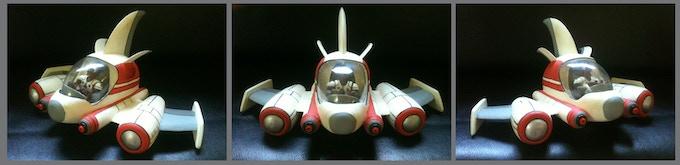 """Mini DOBER SHIP (12""""wide x 6"""" tall)"""
