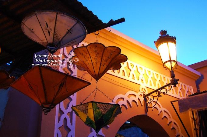 Handmade Lamps - Morocco