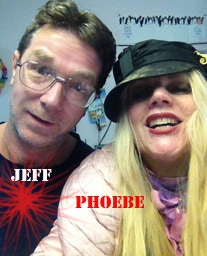 Artist Phoebe Legere and Engineer Jeff Curious