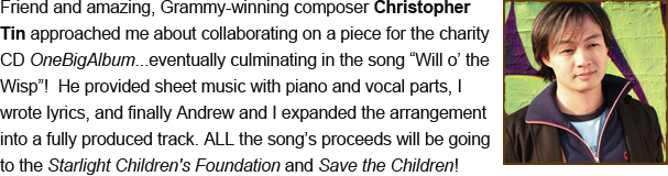"Christopher Tin: Composer (""Will o' the Wisp"")"