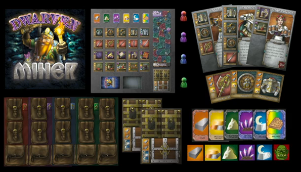 The Contents of a box of Dwarven Miner