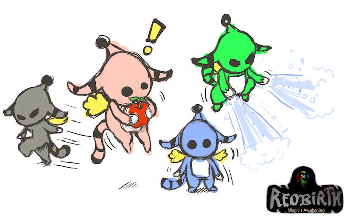 Sketches of Magic Pon