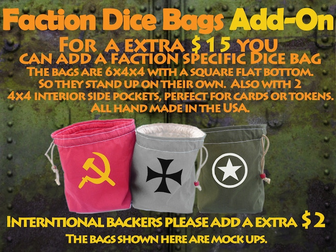 Faction Dice Bag Add-on