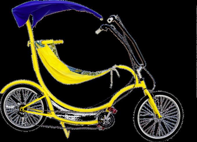 BananaHama Beach Cruiser with Canopy