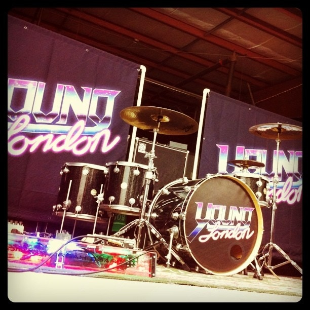 YL Logo Banners and Kick Drum Head