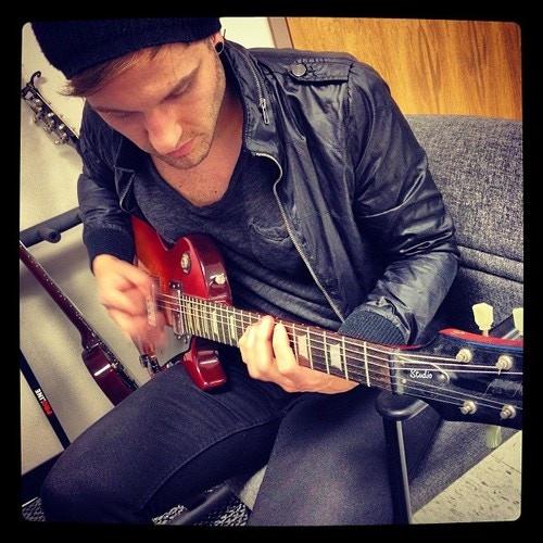 Matt's Epiphone Les Paul Studio Guitar