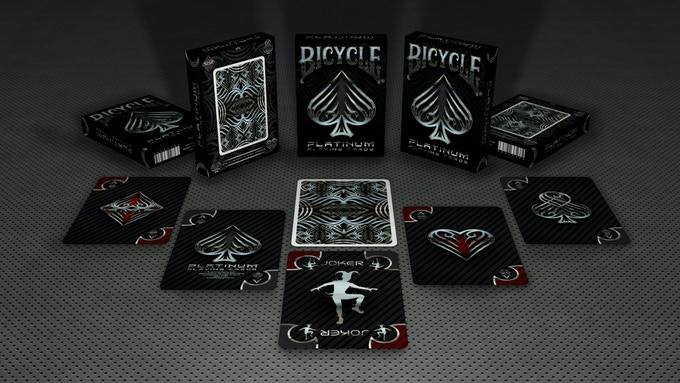 Kickstarter: Elite Playing Cards- Bicycle Platinum Deck Reaches Goal