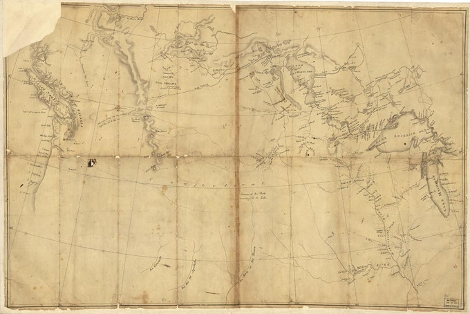ADVENTURE PACK: This map Meriwether Lewis brought on The Corps of Discovery journey will be letter-pressed on a notecard + more rewards