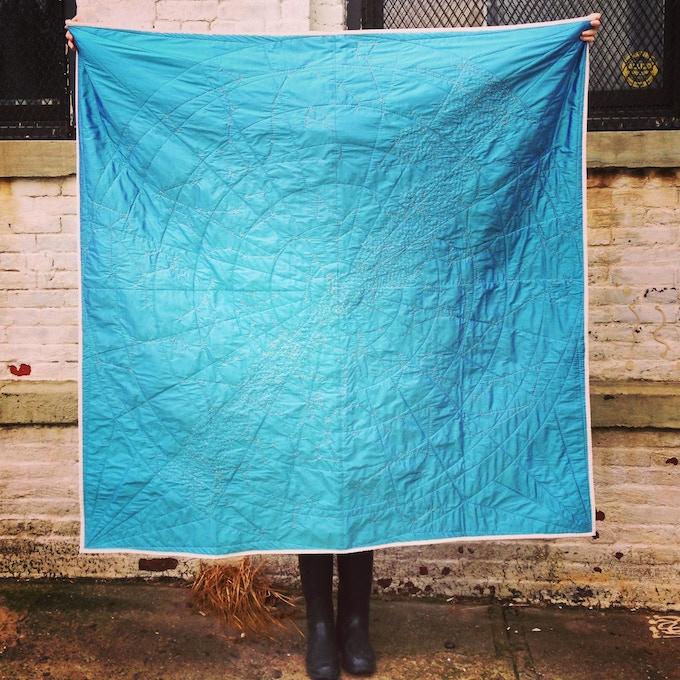 Original Constellation Quilt ($2400)