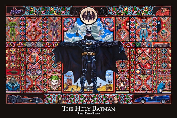 """Batman Poster (available in 24""""x36"""" and HUGE 36""""x48)"""