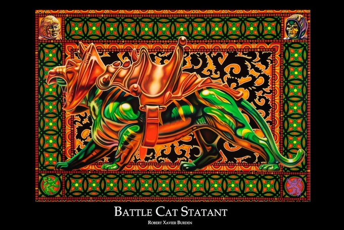 """Battle Cat Poster (available in 24""""x36"""" and 12""""x18"""")"""
