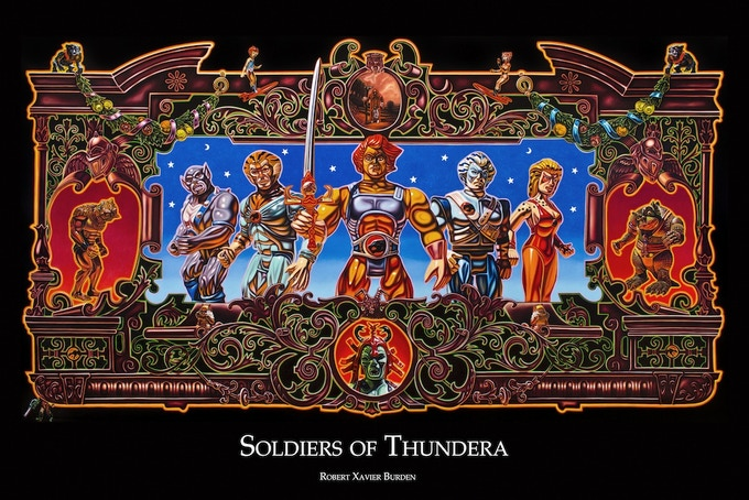 """Thundercats Poster (available in 24""""x36"""" only)"""