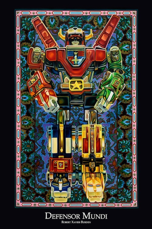 """Voltron Poster (available in 36""""x24"""" and 12""""x18"""")"""