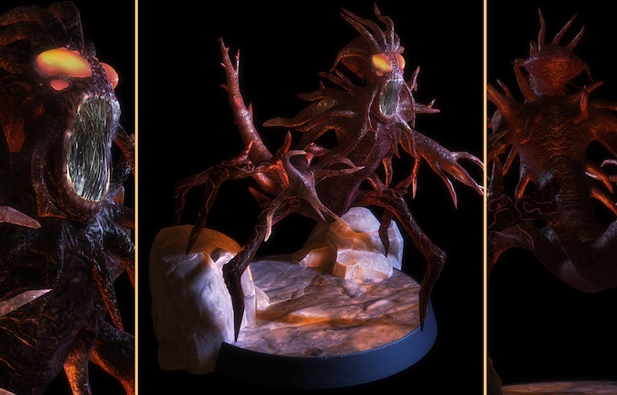 The Tormentor as a figurine, sitting on your desk!