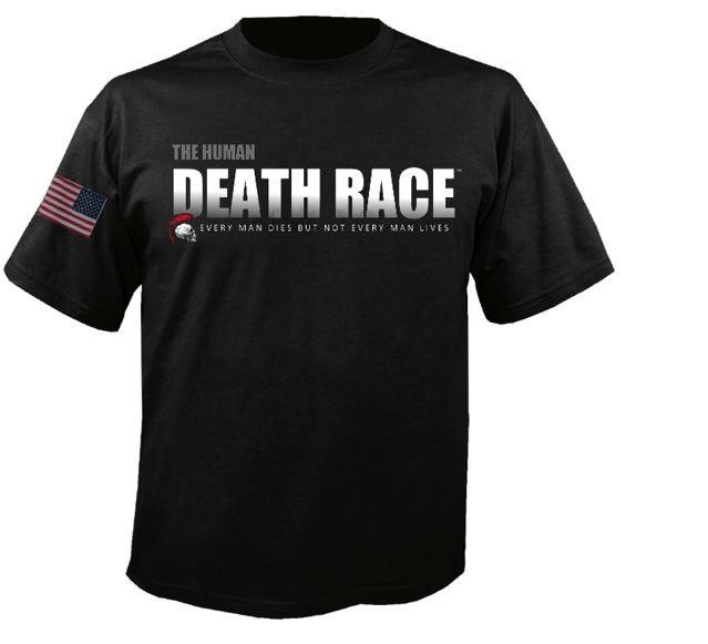 The Human Death Race t-shirt.