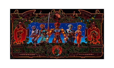 """""""Soldiers of Thundera (Thundercats)"""" 24""""x36"""" limited edition giclée print"""