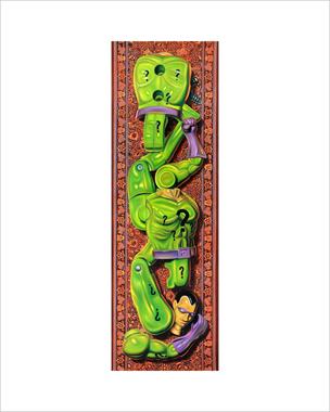 """""""Riddler"""" 16""""x20"""" limited edition giclée print"""