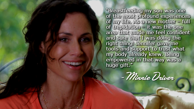 Minnie Driver: Actress and Breastfeeding Advocate