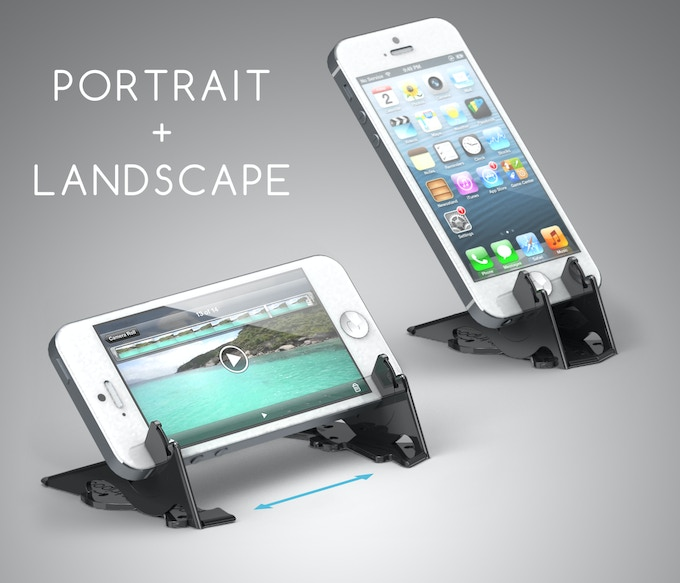 Pocket Tripod: 360 Wallet-sized IPhone Stand By