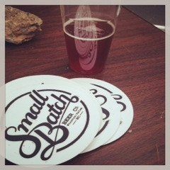Small Batch Beer Co Stickers