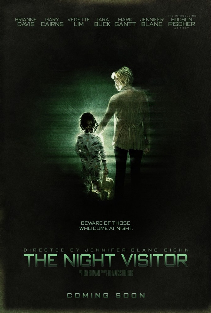 Teaser Poster - THE NIGHT VISITOR