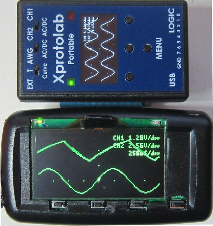 Xminilab-Portable vs Xprotolab-Portable