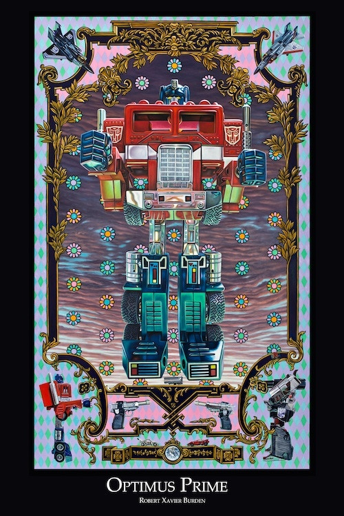 """Optimus Prime poster (available in 12""""x18"""", 24""""x36"""" and HUGE 36""""x48"""")"""