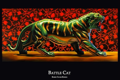 """Battle Cat Poster (available in 12""""x18"""" only)"""