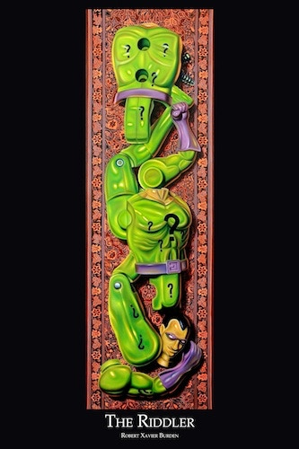 """Riddler poster (available in 12""""x18"""" only)"""