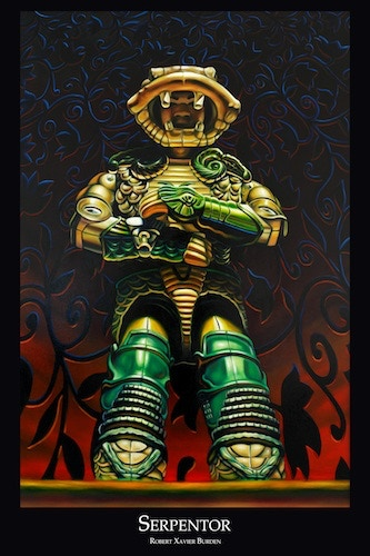 """Serpentor poster (available in 12""""x18"""" only)"""
