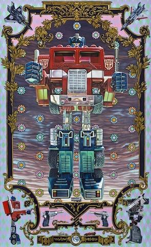 """The Autobot (Optimus Prime)"", 24""x36"" limited edition giclée print"