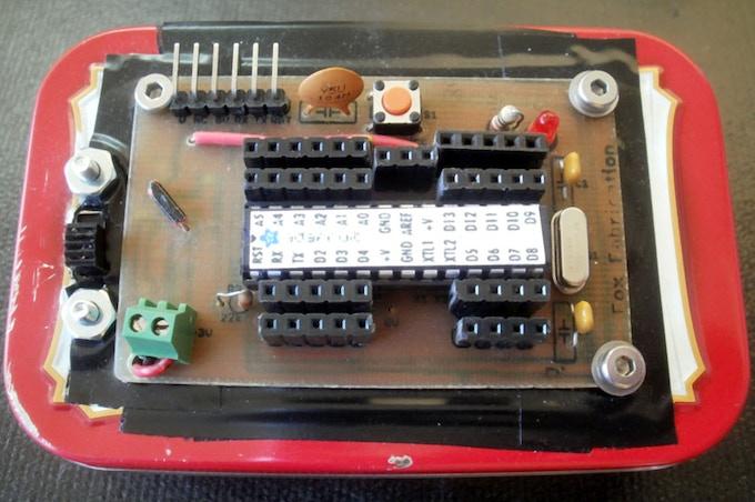 Boostdunio - Basic Arduino Clone Using AA Batteries