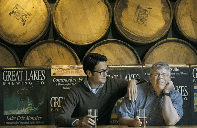 Lance Rice and his nephew sat down at Great Lakes Brewing Co. in Cleveland, OH before giving an interview with The Cleveland Plain Dealer