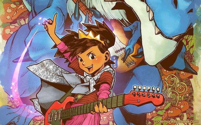 """""""The Princess Who Saved Herself"""" - art by Takeshi Miyazawa and Jessica Kholinne"""