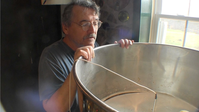 The Beer Diviner checks The Mash