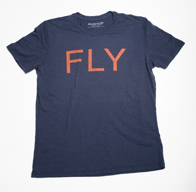 'FLY' Graphic T Shirt