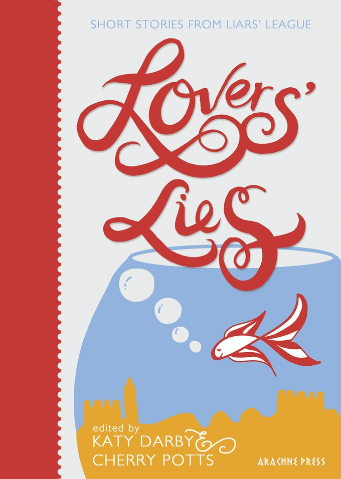 Lovers' Lies cover design copyright Annie Rickard Straus