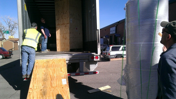 This is how you unload 7 BBL fermenters without a forklift