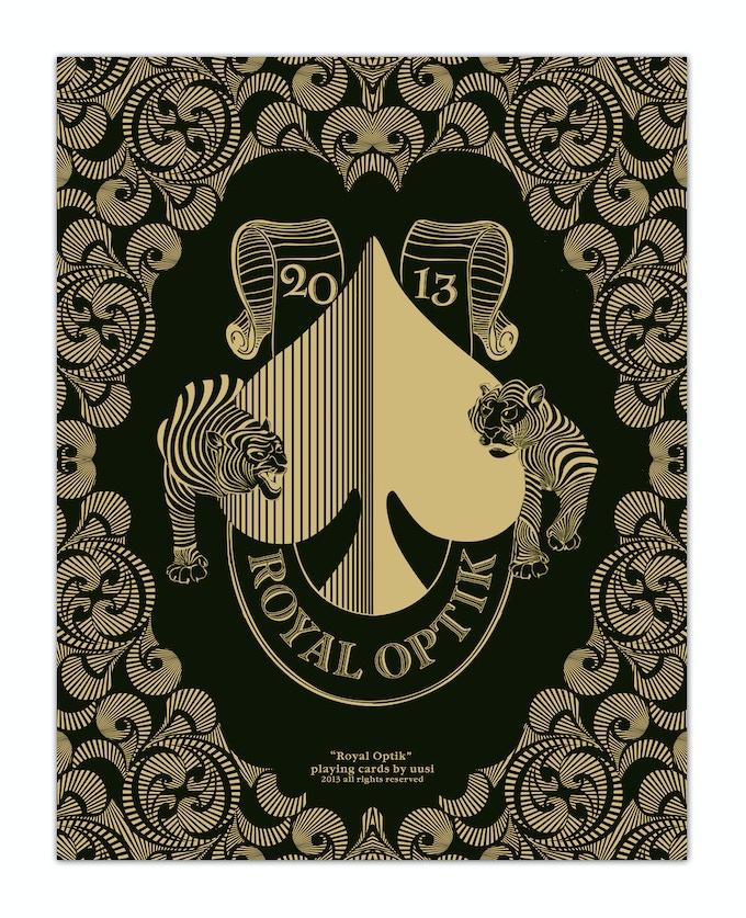 Royal Optik Ace of Spades Screen Print Poster