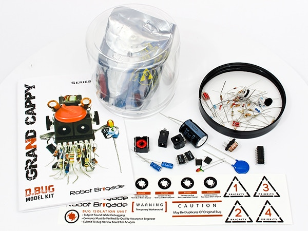 WARNING: Kits contain small parts that may be a choking hazard for children.