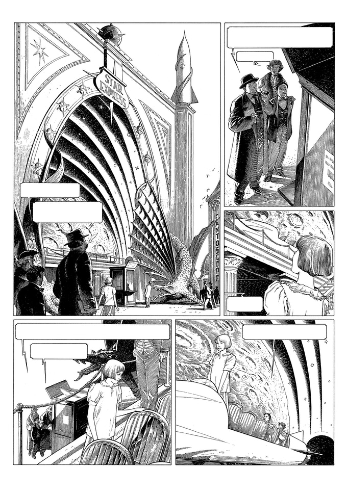 a page from the beginning of the story.