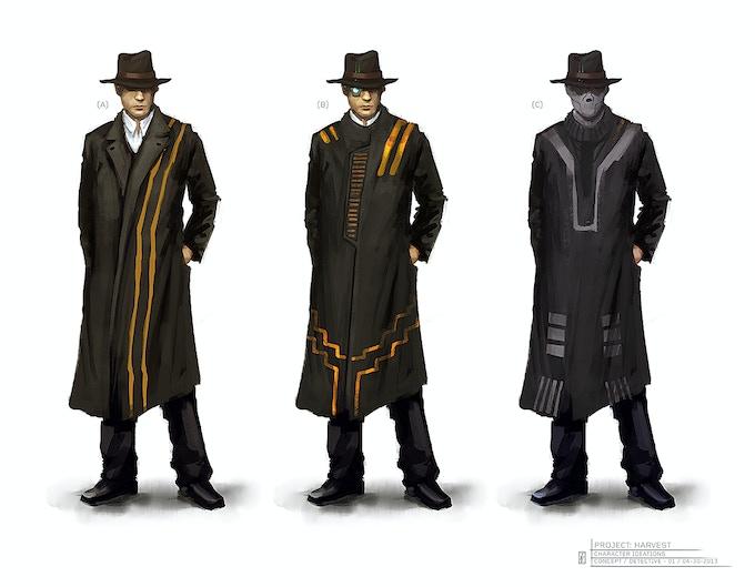 Detective Concept